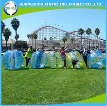 Fashion and quality young tpu bubble soccer balls