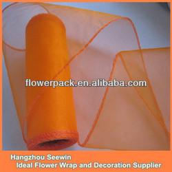 Hot Sale Green Organza Silk Fabric
