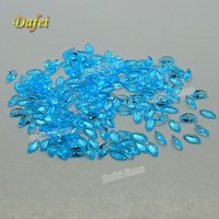 Hot Selling! Blue Marquise Synthetic Glass Gemstone