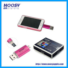 Noosy OTG flash Disk TF reader for smart phone