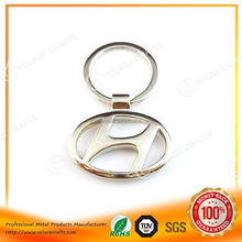 Fashion metal key chain with car logo