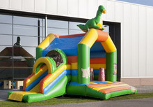 2015 new design inflatable dinosaur combo jumper for sale