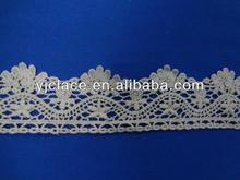 China Manufacturer Embroidered lace trim trimming popular mainstream accessory YJCDSC00921