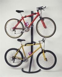 New design 2 tier removable metal bike rack for car trunk