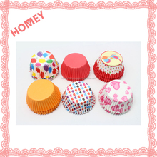 100pcs Original Mini Round Cake Paper Holds Greaseproof Cupcakes Paper Cases
