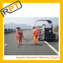 Roadphalt hot rubberized crack filler