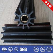 Steel core rubber impeller