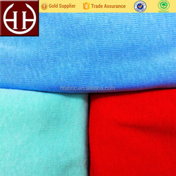 4 colors 32s Singeing quality 100% cotton 1x1 rib fabric wholesale