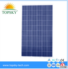 250 watt high quality solar panel manufacturing solar plant for wholesale