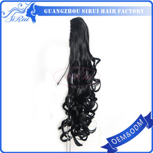 black curly ponytail , ball ponytail holders , curly ponytail hair pieces
