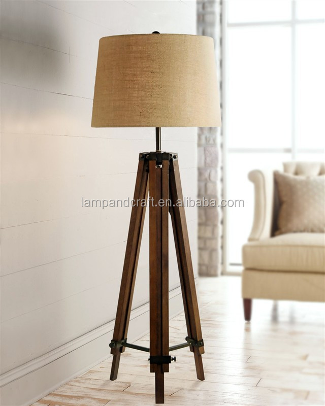 Alibaba italian standing floor lamp modern best selling 3 for Floor lamp wooden legs
