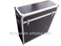 professional transport aluminum carrier case/Plasma/LCD flight case with casters