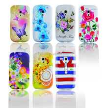 For Samsung Galaxy S3 mini i8190 Printed Skin Hard Shell Back Phone Case Cover