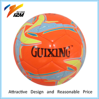 promotional pu leather soccer ball