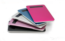 Ultra Slim Power Bank, Portable Credit Card Power Bank Manufacturer, Smart Best Power Bank For Cell Phones