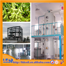 10-50 TPD factory price soybean oil manufacturing process, crude oil refining machine