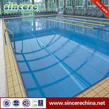 azulejo de la piscina de color beige