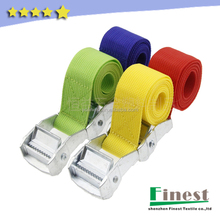 Nylon/Polyester Cam buckle tie down straps,motorcycle tie downs