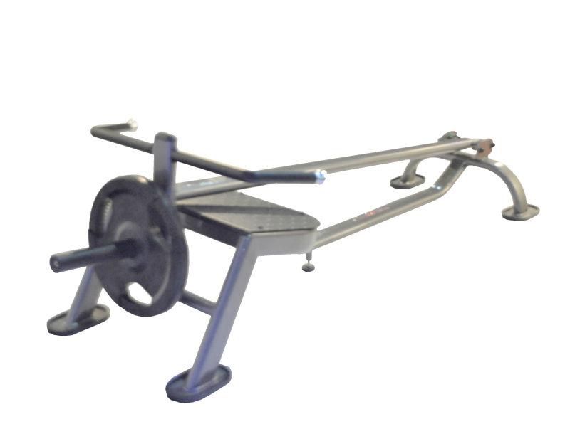 how to use seated row machine