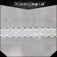 New Design 1.5 cm Width Garment Lace, Religious Lace, Non Stretch Lace Trimming for Garment/Shoes/Bag