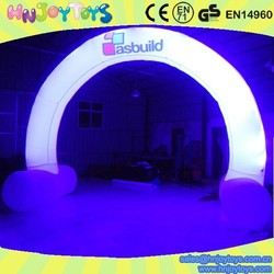 Party decorations Inflatable light arch, inflatable led arch, inflatable arches with light