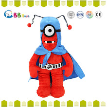 wholesale hot toys red stuffed big eyes alien pendant dolls