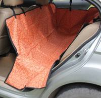 Professional manufacturer,dog car seat cover with one or two pockets at factory price