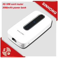 Power Bank Mini 3G WiFi Router Outdoor
