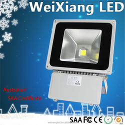 Weixiang manufacturer products sold in spain good performance ip65 meanwell driver 70W led flood light