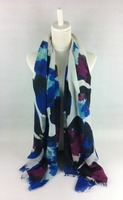 New Design Long Shawl Polyester Scarf