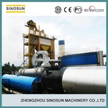 China leading 120T/H asphalt mixing plant manufacturer,SINOSUN SAP120 stationary asphalt mixing plant