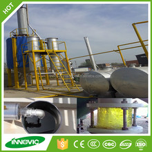 Used Motor Oil/Engine Oil/Lubricant Oil Recycling Refining To Base Oil Machine