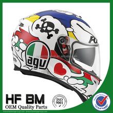 HF002 carbon fiber bike helmet, safety helmet motorcycle