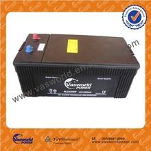 JIS SMF 12V 200ah Top Auto battery