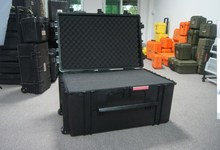 Hard ABS plastic equipment tools packing case / carrying case with wheels No(764830)