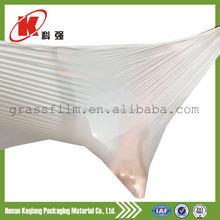 China manufacturer silage film plastic folie for packaging