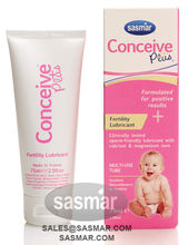 CONCEIVE PLUS 75ml fertility lubricant gel - helping couples get pregnant