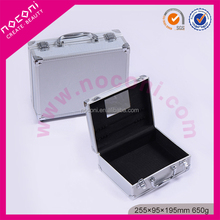 Noconi new professional aluminum beauty cosmetic case with lock