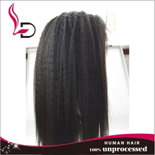 Cheap brazilian kinky straight human hair lace full wig braided full lace wigs with baby hair human hair full head wig aliexpres