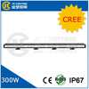 Top quality 300w waterproof 50inch led light bar offroad light bar for trucks SUV curved led light bar