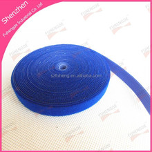 hot sale waterproof heavy duty blue back to back velcro tape