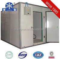 Building a cold room refrigerated container with polyurethane panel