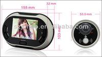 Motion detect digital door eye viewer peephole camera wireless