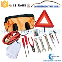 24pcs Auto Safety Emergency Tools Car Kit
