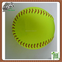 PU Baseballs leather 12 inch high quality Slowpitch softball