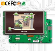 5 inch LCD Monitors with PCB Drive Board and UART Port