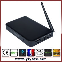 metal case T10 android tv box 2GB 8GB Quad core amlogic s812 chipset support 4k with KODI xbmc pre-installed