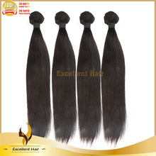 Best Quality Indian Remy Hair Extension 100% Human Hair Bundles Yaki Straight Hair Weft