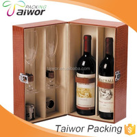Alibaba Eco-Friendly Gift Box custom Wood wine Box