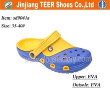 china wholesale cheap diamante rubber orthopedic clogs shoes